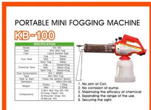 เครื่องพ่นหมอกควันขนาดเล็ก KB-100 Mini Fogger